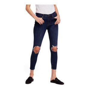 FREE PEOPLE Busted Knee Skinny Jean 25 NWT